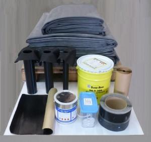 kit de toiture froide